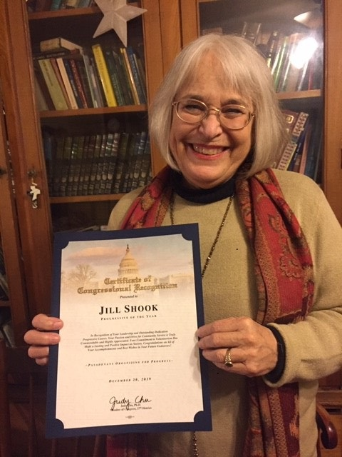 award from Judy Chu