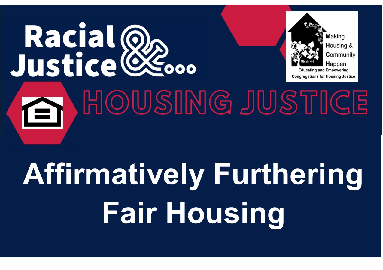 racial justice and housing affordable housing flyer May 16 evite final