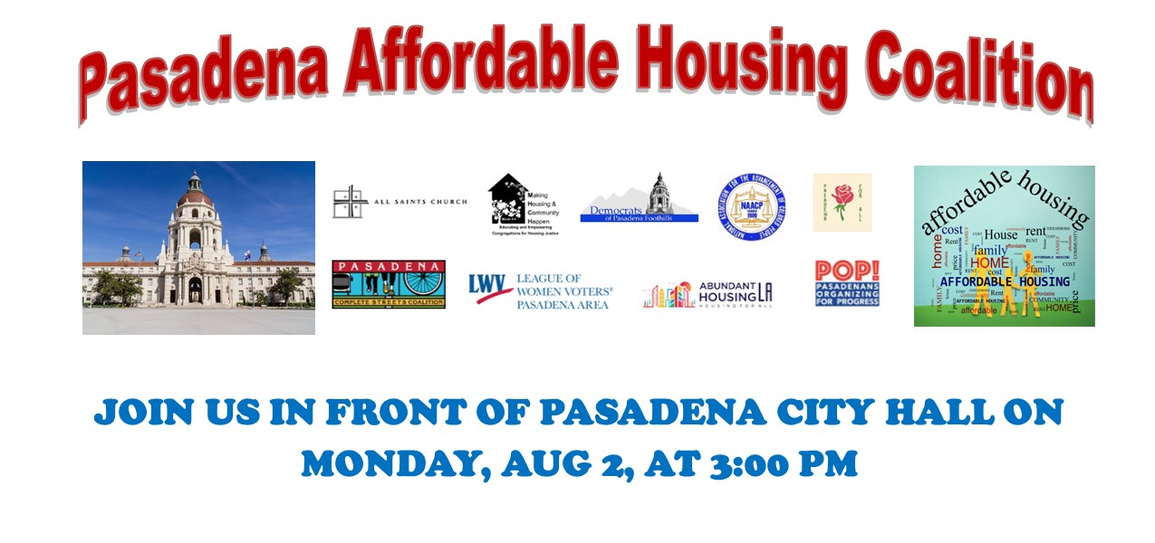 Affordable housing coalition graphic for evite